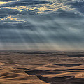 Rays On The Palouse by Mark Kiver