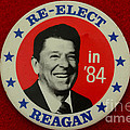 Re-elect Reagan by Paul Ward