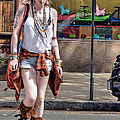 Redhead Crossing Main Street by Geoffrey Coelho