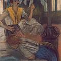 Reading A Letter by Edgar Degas