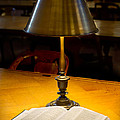 Reading Lamp And Book by Jerry Fornarotto