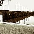 Cumberland Valley Railroad Bridge by Jean Macaluso