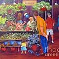 Reading Terminal Market Flowers by Loretta Luglio