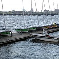 Ready And Waiting On The Charles by Barbara McDevitt