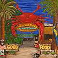 Ready For The Day At The Crab Shack by Susan Cliett