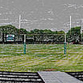 Ready For The Football Season Panorama Digital Art by Thomas Woolworth
