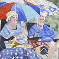 Ready For The Millbury Parade by Carol Flagg