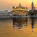 Real Gold At Golden Temple by Devinder Sangha