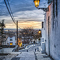 Realejo View During Sunset - Granada by Daniel Nahabedian