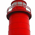 Really Red Lighthouse by Ann Horn