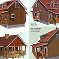 Realm Gallery Cabin Designs by Duane McCullough