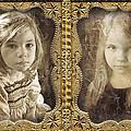 Rebecca And Sara by John Anderson