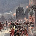 Reception Of Charles V In Amboise by Albert Robida