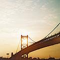 Recesky - Benjamin Franklin Bridge 2 by Richard Reeve