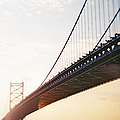 Recesky - Benjamin Franklin Bridge 3 by Richard Reeve