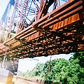Recesky - Whitford Railroad Bridge by Richard Reeve