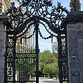 Recidence Garden Gate - Wuerzburg by Christiane Schulze Art And Photography
