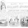 'recipes From Hillary's Kitchen' by Roz Chast