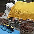 Reclining Buddha Monument by Artur Bogacki