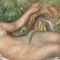 Reclining Nude La Source by Pierre Auguste Renoir
