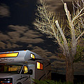Recreational Vehicle Freedom Express Image Art by Jo Ann Tomaselli