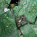 Recycling Computer Circuit Boards by Louise Murray/science Photo Library