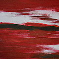 Red Abstract by Dotti Hannum