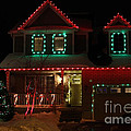 Red And Green Christmas by Janice Byer