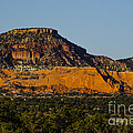 Red And Green Plateau New Mexico by Deborah Smolinske