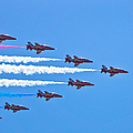 Red Arrows 1 by Scott Carruthers