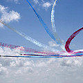 Red Arrows Aerobatic Display Team by Steve Ball