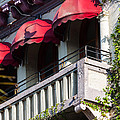 Red Awnings At The Van Dyke by Ed Gleichman