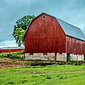 Red Barn by Bill Gallagher
