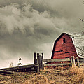 Red Barn by Danielle Mattson