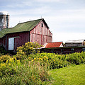 Red Barn In Groton by Gary Heller