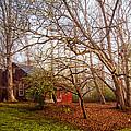 Red Barn In The Smokies by Debra and Dave Vanderlaan
