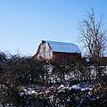 Red Barn by Jim Nance