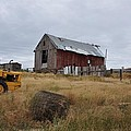 Red Barn On The Hill by Image Takers Photography LLC