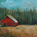 Red Barn by Patricia Caldwell