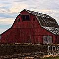 Red Barn Photoart by Debbie Portwood