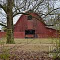 Red Barn Series Picture A by Barb Dalton