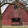 Red Barn Series Picture C by Barb Dalton