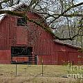 Red Barn Series Picture E by Barb Dalton