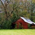 Red Barn by Steven Richardson