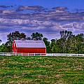 Red Barns by Andy Lawless