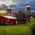 Red Barns by Debra and Dave Vanderlaan