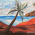 Red Beach by Judy Via-Wolff