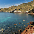 Red Beach Santorini by Gary Eason