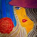 Red Beret by Marissa Gullaba