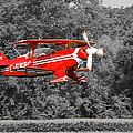 Red Biplane by Guy Whiteley